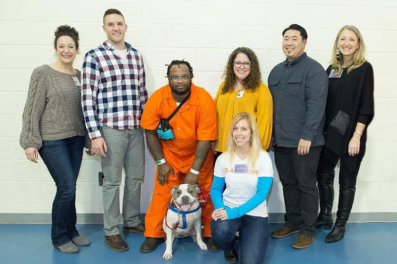 New Leash on Life volunteers interns helpers
